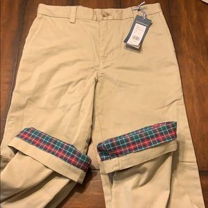 NWT VV Boys flannel lined breaker pant sz 8 or 14